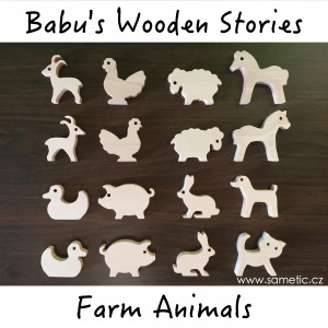 FARM ANIMALS - Babu´s Wooden Stories